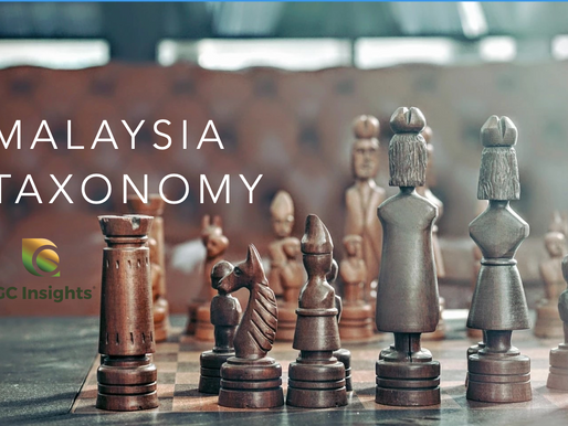 An update on APAC Taxonomy -- Malaysia's Climate Change and Principle-based Taxonomy