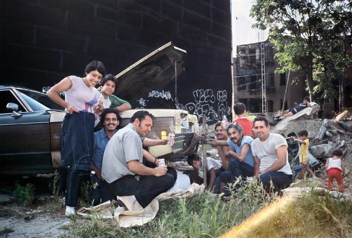 Family Picnic Bushwick, Brooklyn, NY 1982