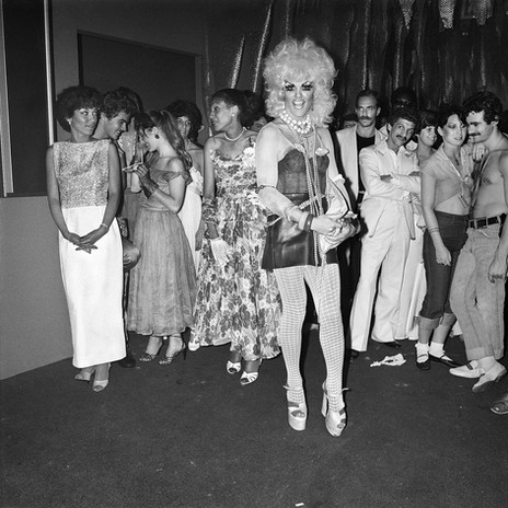 Prom Queen Contender; Les Mouches NY 1978