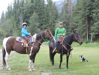 Two Cowgirls ready for the trails