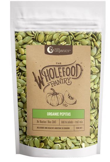Nutra Organics Wholefood Pantry Organic Pepitas 200g