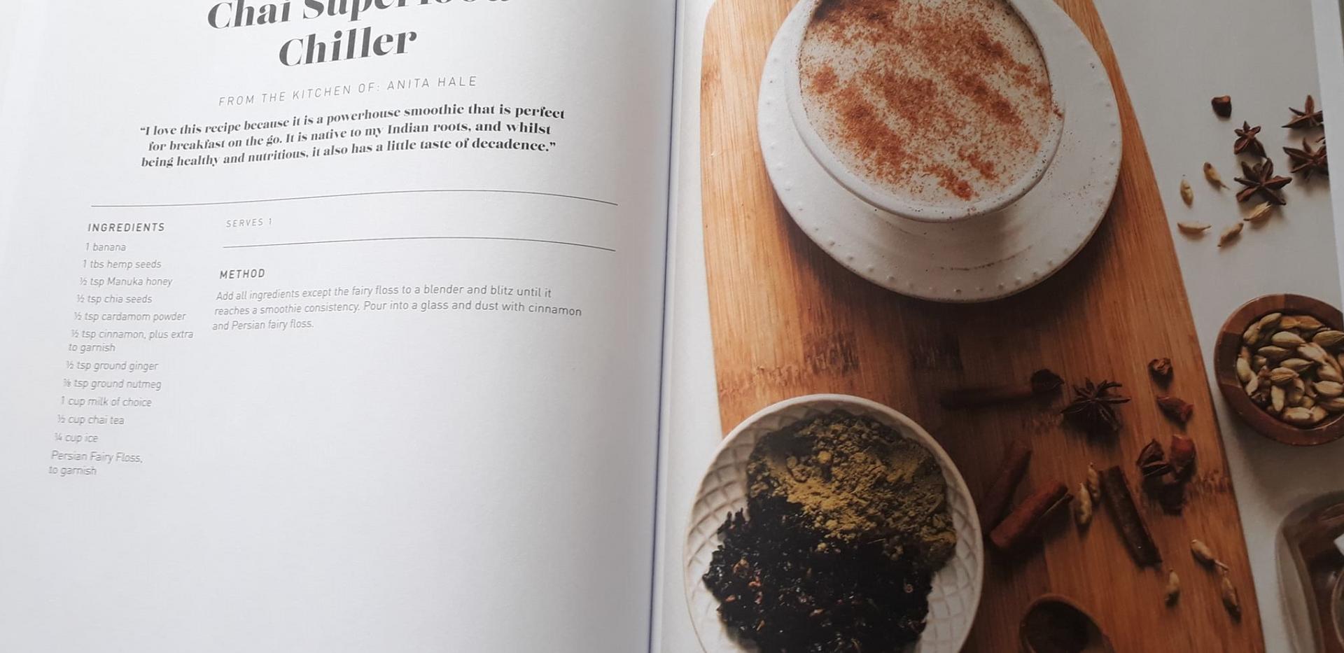 Winner of the Best Recipe (Chai Chiller)