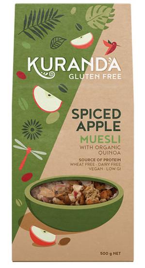 Kuranda Gluten Free Muesli Spiced Apple 500g