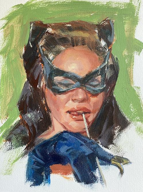 Cat Woman (Batman Retro Villain Gallery series)