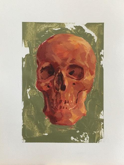 """""""Skull"""" - Work on Paper"""