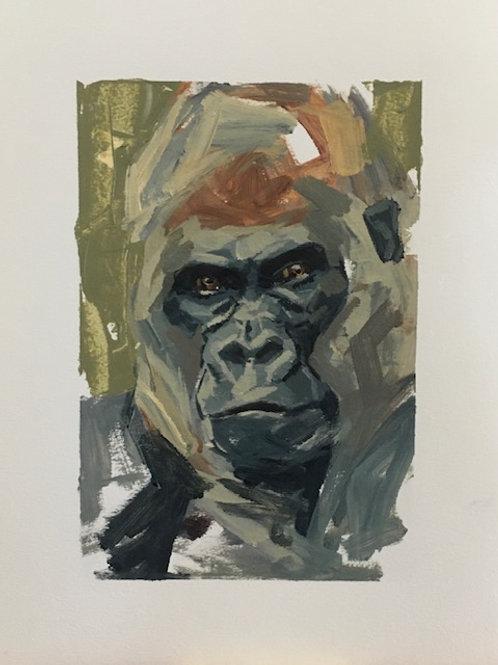 """""""Gorilla"""" - Work on Paper"""