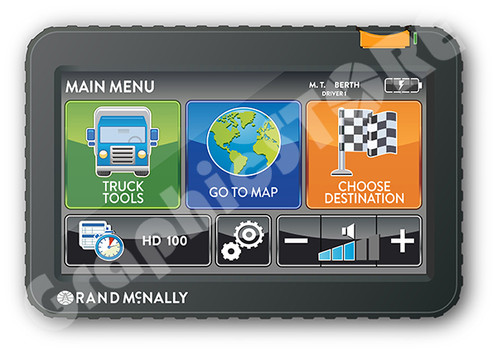 Rand Mcnally Gps >> Vector Rand Mcnally Gps