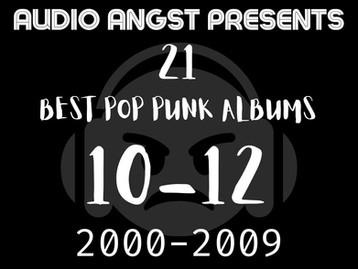 Best Pop-Punk Albums From 2000-2009 (10-12)