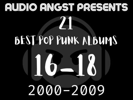 Best Pop-Punk Albums From 2000-2009 (16-18)