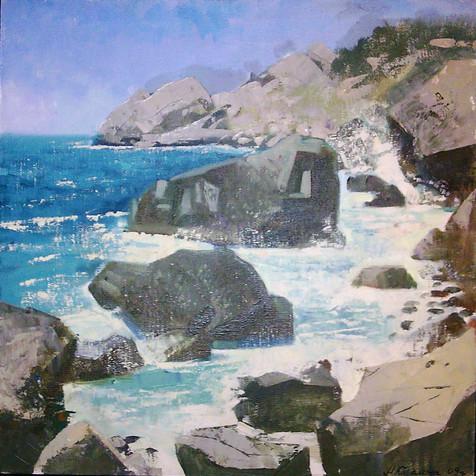 Камни.Крым50-50,х.м,2009год,maria kareli