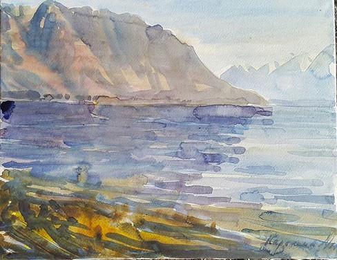 50 sm,  artist -Maria Karelina