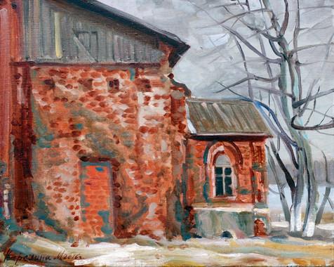 СтарыйХрам40х50, Maria Karelina.JPG
