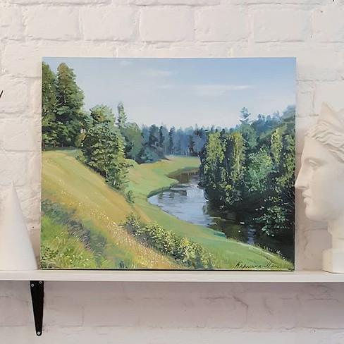 60 sm , 2018, artist-Maria Karelina #oil