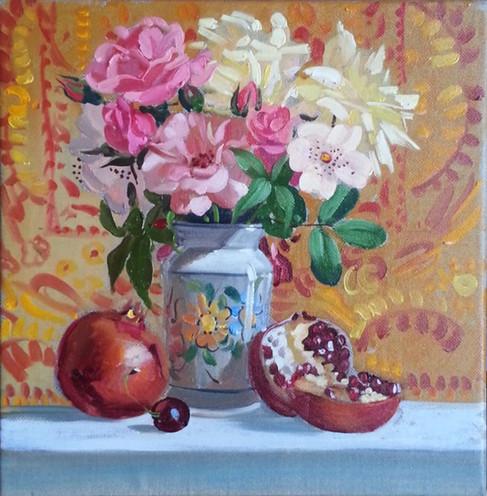 fiori e melograno