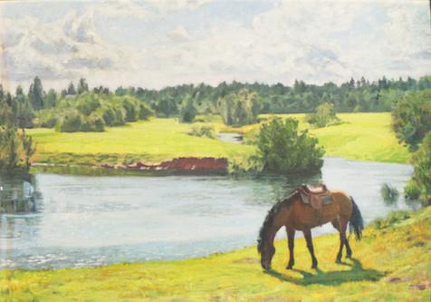 Лошадь,30Х40,2009год, maria karelina.jpg