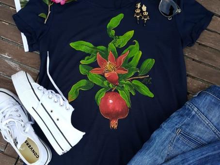 T-shirt in Komo