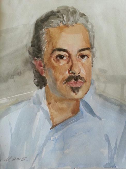 Ritratto aquarello