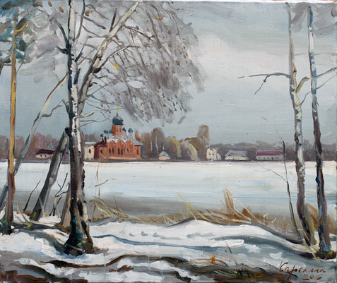 Покров50х60,х,м,2009год, Maria Karelina.