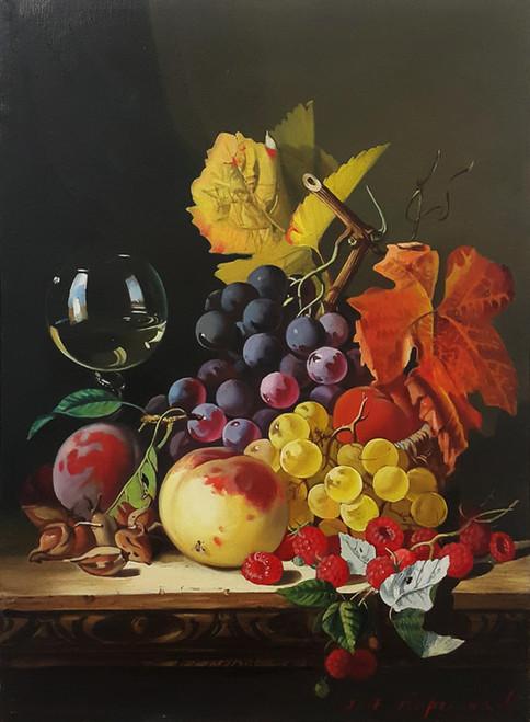 Natura Morta con frutta 2017