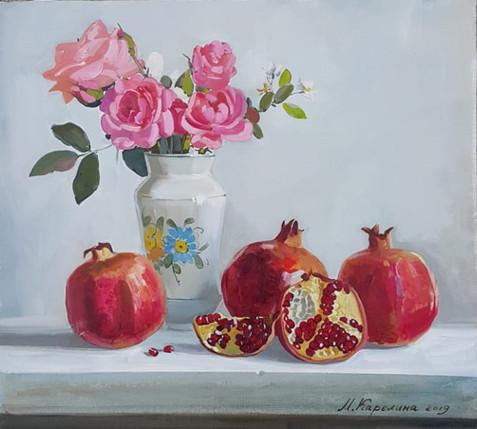 rose e melograna