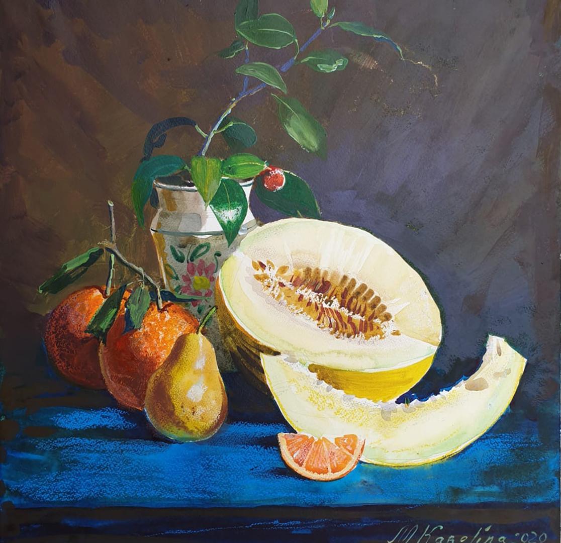 Arance e melone