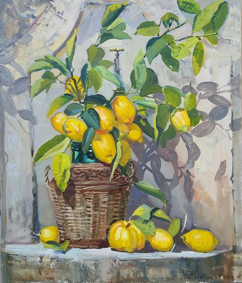 Cesto di limoni