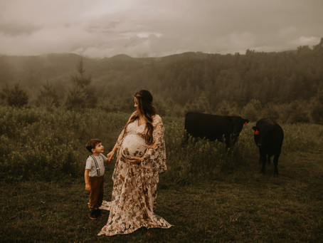 Stormy Maternity Session