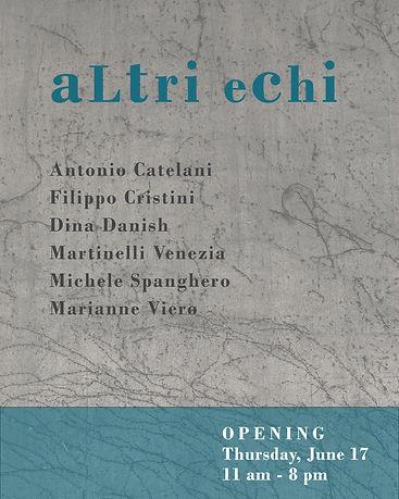 INVITO ALTRI ECHI - Rita Urso gallery (i