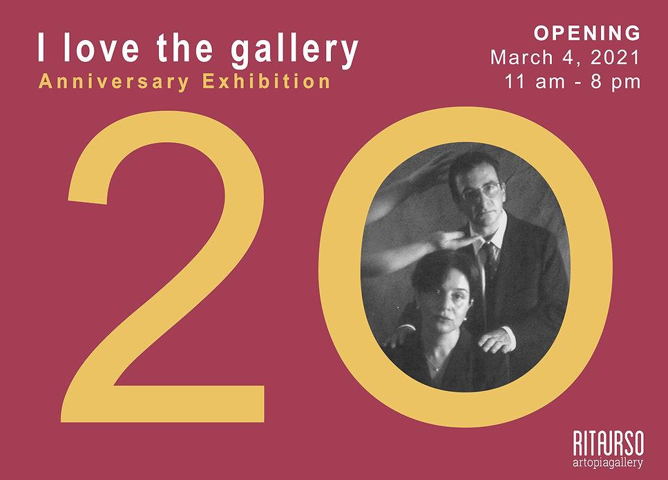 INVITO I love the gallery. 20th annivers