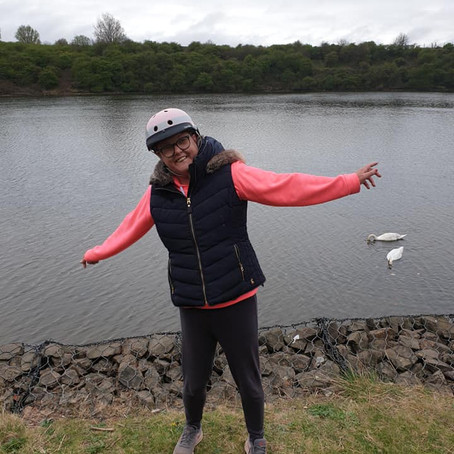 Louise Jamieson smashes her Sober Goal to inspire others