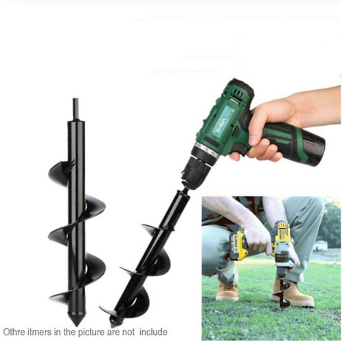1PCS Earth Auger Hole Digger Tools Planting Machine Drill Bit Fence Borer