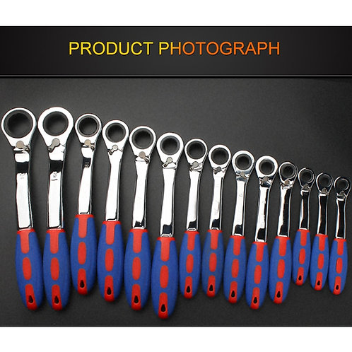 72 Tooth Ratchet Special Opening Ratchet Wrench for Car Repair