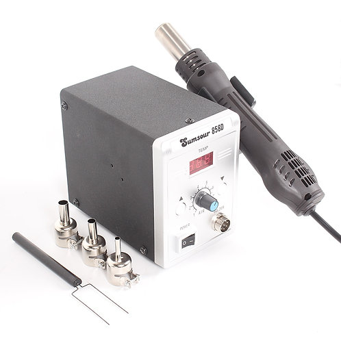 858D Hot Air Gun 700W BGA Rework Solder Desoldering Station