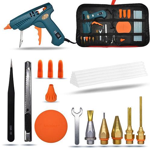 Hot Melt Glue Gun 15 IN 1 Tool KIT 5 DIY Use 11mm Glue Sticks Pure Copper Nozzle