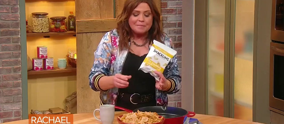 SNACKLINS - Rachael Ray's New Favorite Snack