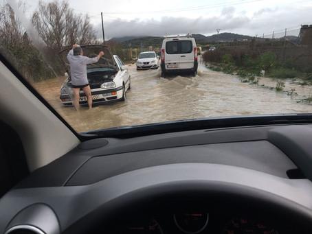 Then the Flood came over Mallorca