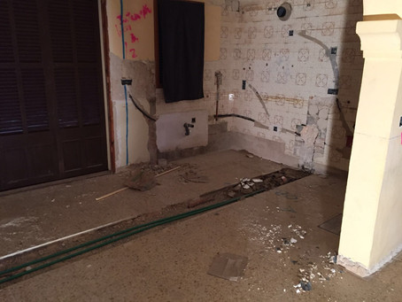 New Water pipes everywhere