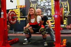 Taylor Jackson world record squat!