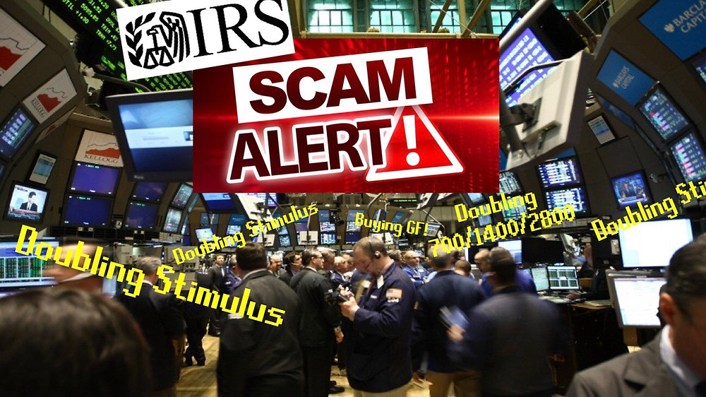 Scammers at the NYSE offering doubling services