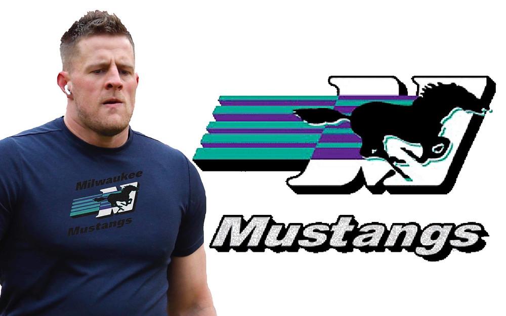JJ Watt Preparing to leave for the Milwaukee Mustangs