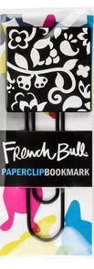 French Bull Silicone Paper Clip Bookmark