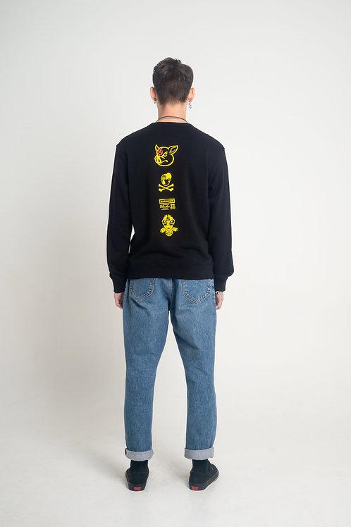 Unisex Crew Neck Long Sleeve Sweatshirt