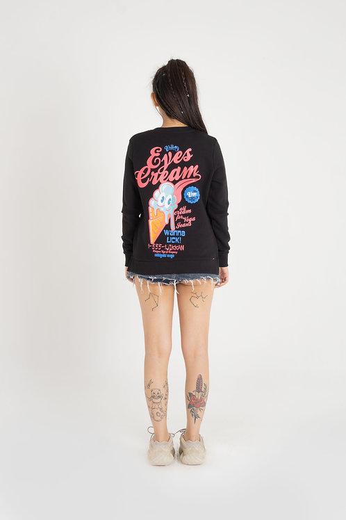 Ladies' Crew Neck Long Sleeve Sweatshirt