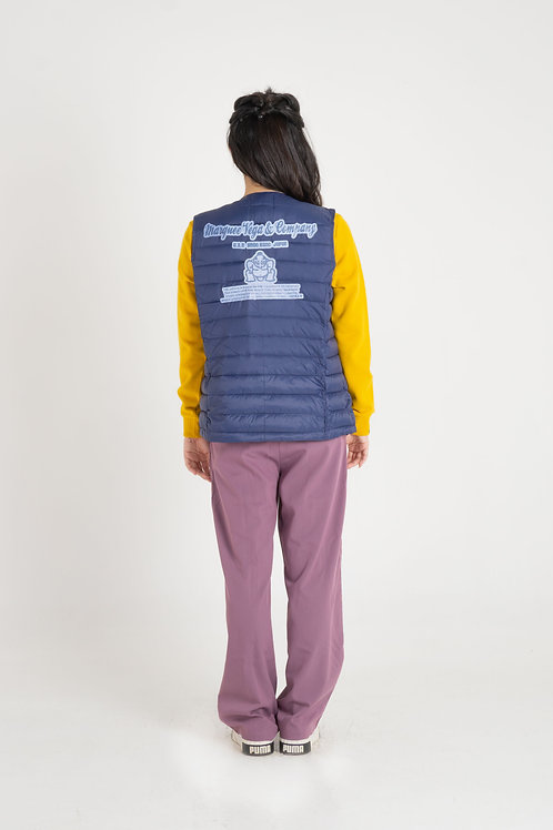 Ladies' Crew/V Neck Padding Vest