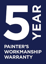 5 Year Painter's Workmanship Warranty_PM