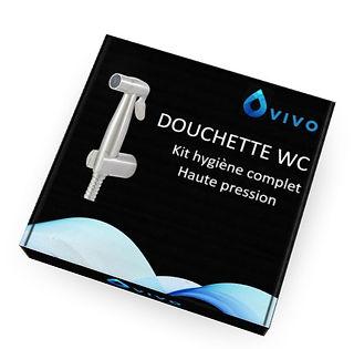 Packaging kit hygiène complet haute pression douchette wc VIVO
