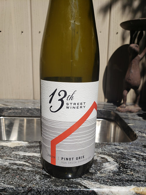 Pinot Gris 2019 by 13th Street