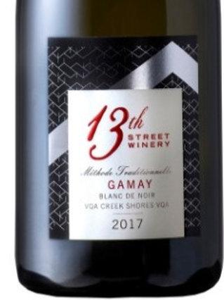 Gamay Blanc de Noir sparkling 2017 by 13th Street - Niagara Bench