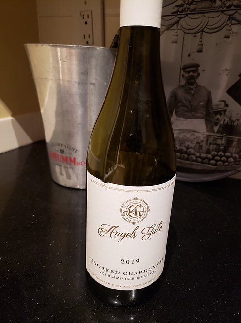 Unoaked Chardonnay 2019 by Angels Gate - Niagara Bench