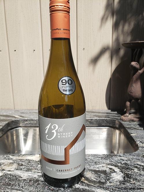 Cabernet Franc 2018  by13th Street Winery -- Niagara Bench Niagara Bench
